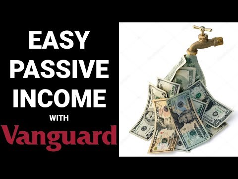 Earn EASY PASSIVE INCOME with Vanguard Index Funds