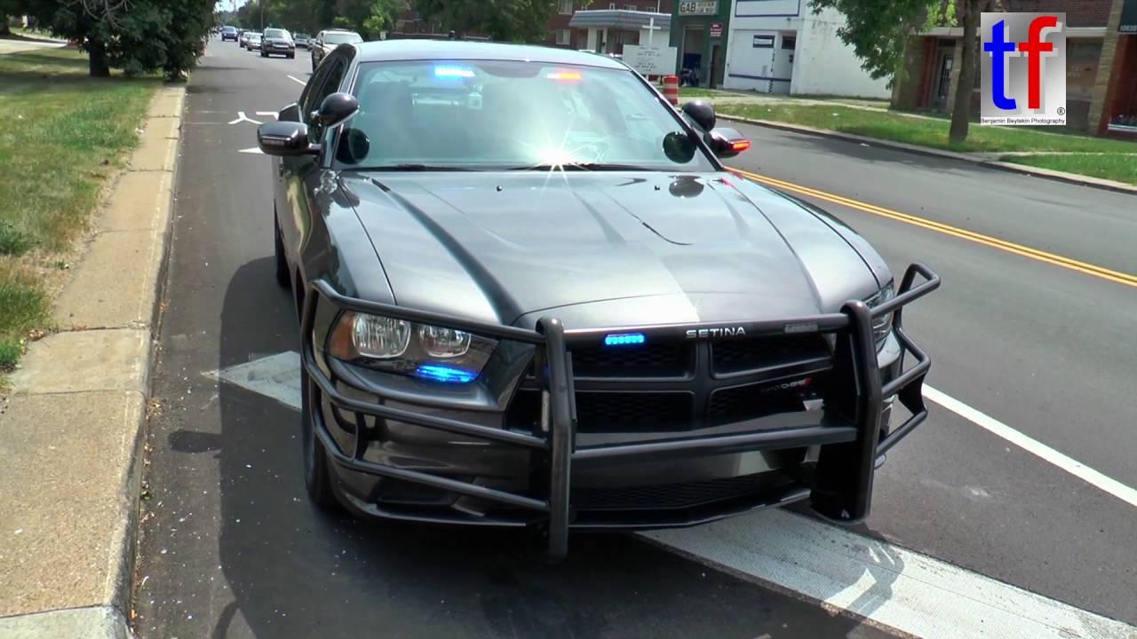 Detroit Police Department Dodge Charger Neighborhood