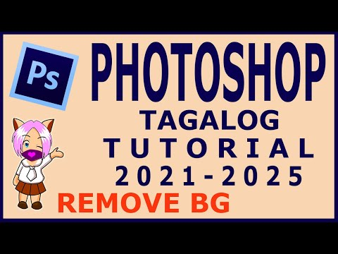 Photoshop Cs6 Tutorial in Tagalog (Removing Background)