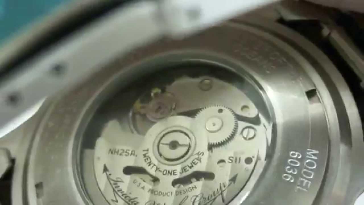 19c49f7ae1d Relógio Invicta 6036 - Pro Diver Automático - YouTube
