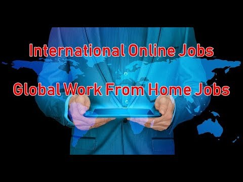 International Online Jobs | Global Work From Home Jobs