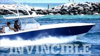 Invincible 42 Open Fisherman Running out of Fort Lauderdale