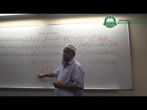8 Feb 2017   Ustaz Abd Muein Abd Rahman   Tadabbur Surah Al Waqi'ah Ayat 67 -  74