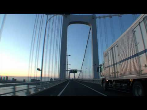 Sunrise drive in Tokyo  HD  ♪ Ligaya -Gouryella