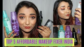 Top 5 Favourite Best Makeup Fixing Spray | Setting Spray in India | Affordable Makeup Fixer
