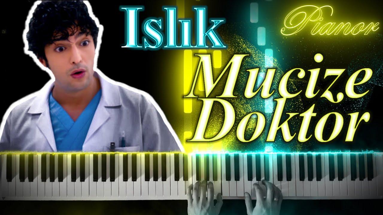 Mucize doktor Islık Müziği - piyano öğretici   الطبيب المعجزة يوم جديد (صفير) عزف بيانو