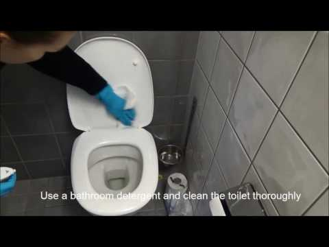 LU Accommodation - Cleaning your room: Bathroom