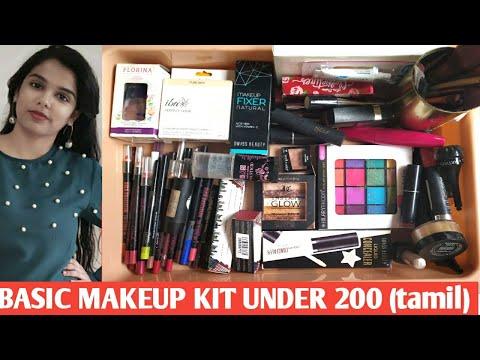 Basic makeup in tamil - Makeup Under 200 - affordable basic makeup kit under 200 - - 동영상