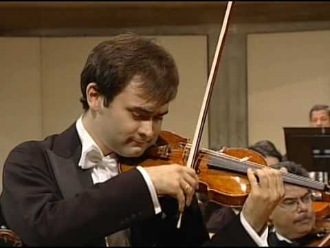 Janusz Wawrowski plays Brahms Violin Concerto in D-major, Op.77 part 1