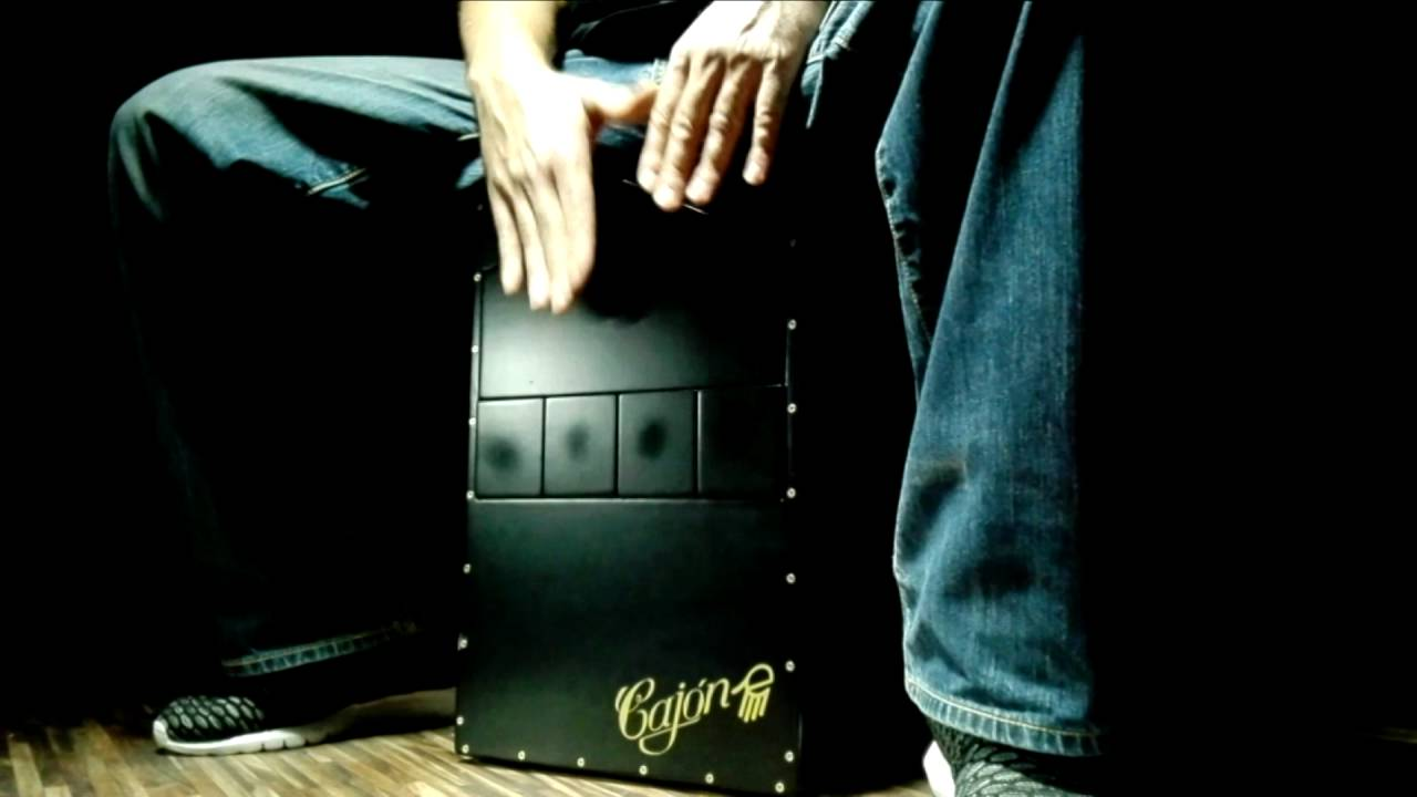 Cajon-e cajón electrónico con midi y samples