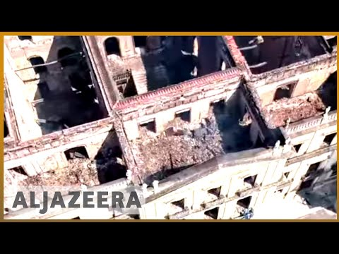 🇧🇷 Outrage over fire at Brazil national museum | Al Jazeera English