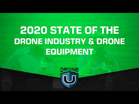 2020 State Of The Drone Industry & Drone Equipment