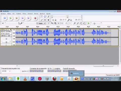 Audacity Grabar sonido de una página web sin micrófono  Parte 2