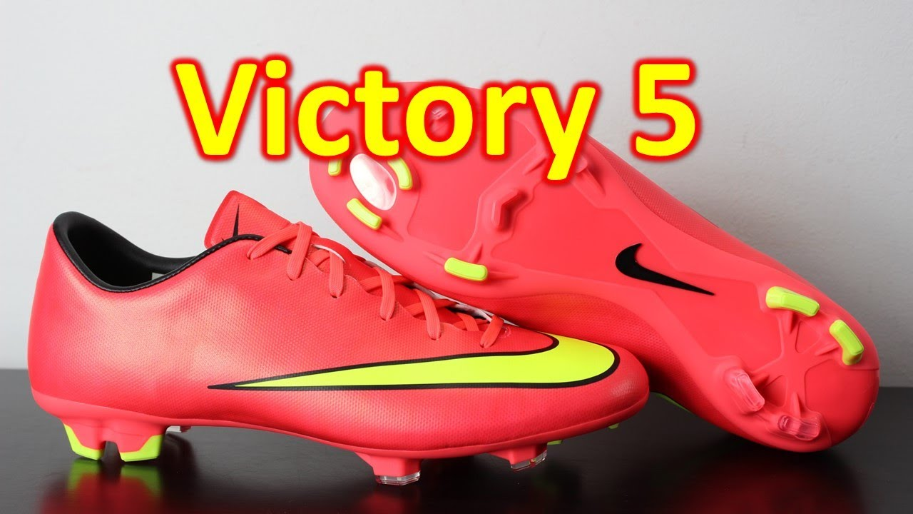 separation shoes 76f5a e25b6 Nike Mercurial Victory 5 Hyper Punch/Volt - Unboxing + On Feet