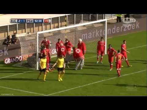 Tytoń knock-out tegen Roda JC (RJC - PSV 2-1)