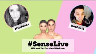 Gambar cover AMA Sense.info met DusDavid & MissRevex - 2 april 2015