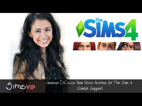 Jessica DiCicco: The Sims 4 (Simlish Snippet)
