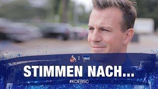 Stimmen nach 1. FC Köln - Darida, Ibisevic -  Hertha BSC
