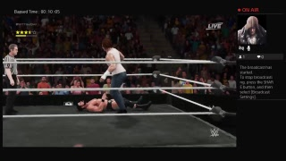 Antwain Golden VS Bobby Roode For NXT Champions in WWE 2K18 Part 2