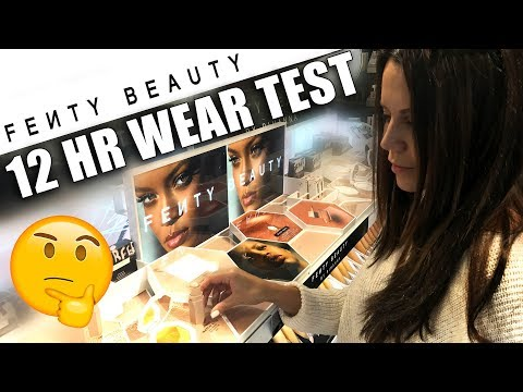 Thumbnail: FENTY BEAUTY by RIHANNA ... (12hr Wear Test)