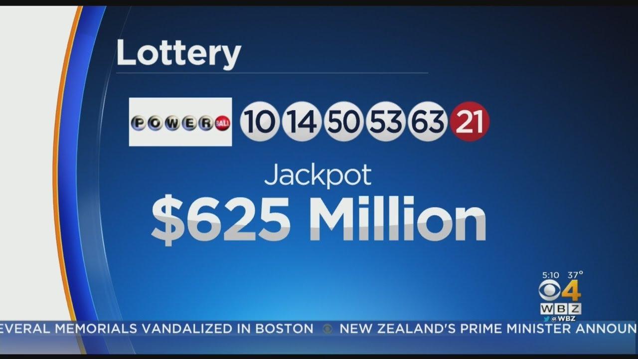 Powerball grows to $625 million