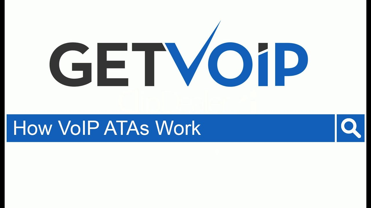 What is a VoIP ATA (Analog Telephone Adapter) & How it Works?