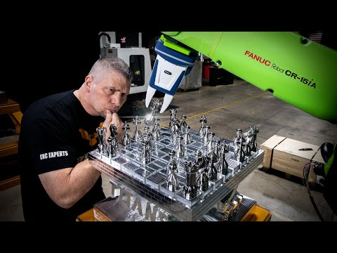 ROBOT VS TITAN   Incredible Automation Technology   New Robot & Automation Academy