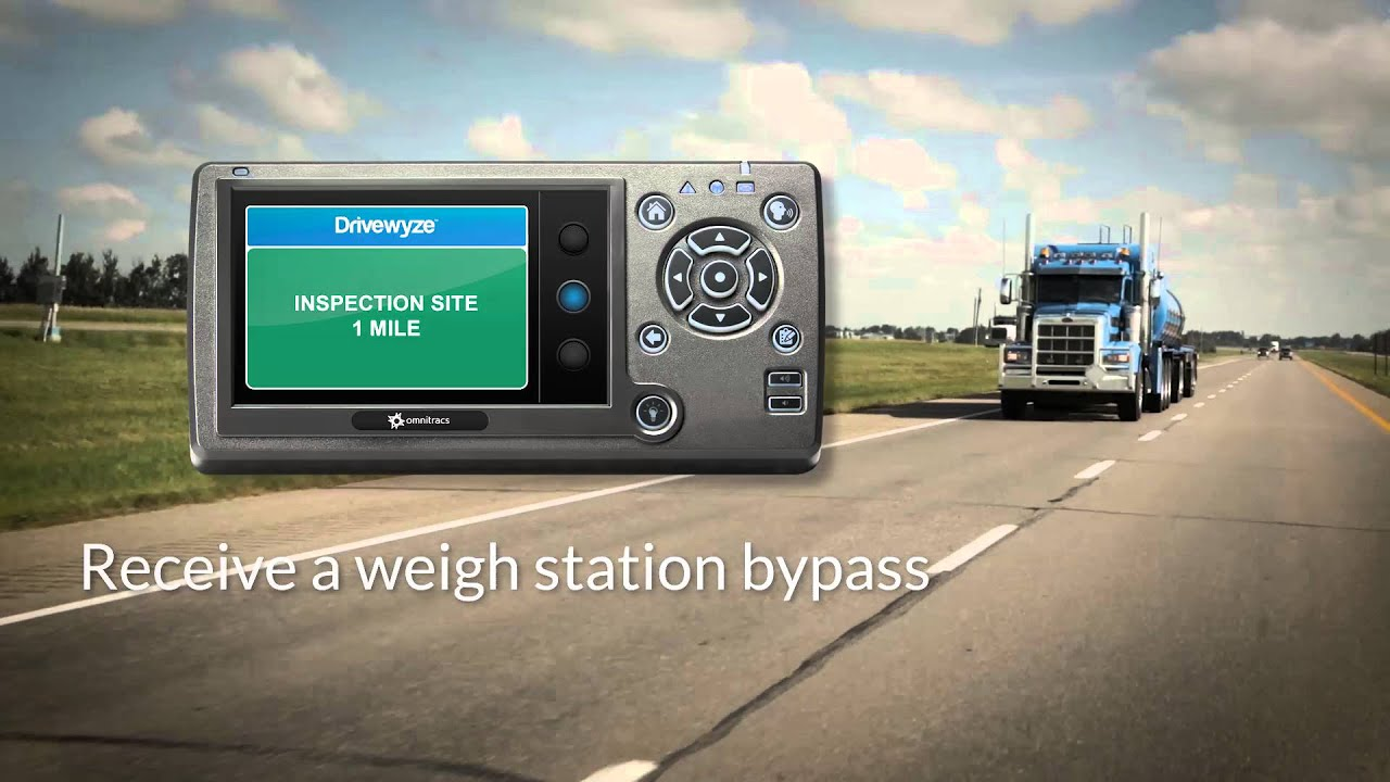 Omnitracs Weigh Station Bypass - Drivewyze Preclear - Overview