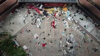 Hong Kong Polytechnic University left in shambles after violence