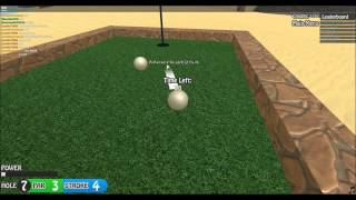 Lets Play: ROBLOX! - Mini Golf Leaders! (48)
