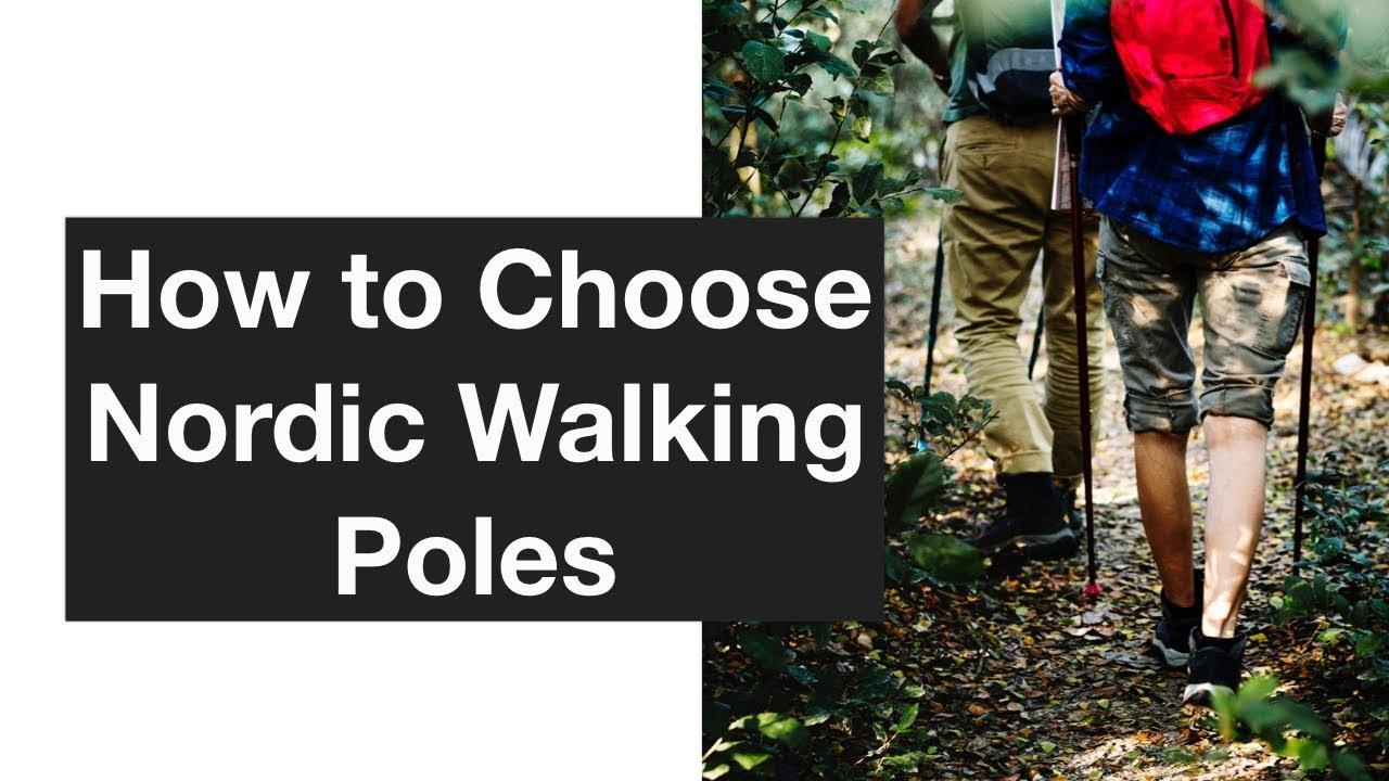 How to choose Nordic walking sticks 24