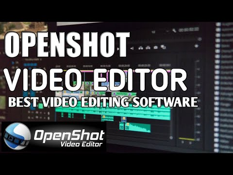 OpenShot Video Editor Tutorial | Openshot Video Editing | Free Video Editing Software thumbnail