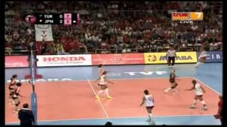 Turkey - Japan [Full Match] World Grand Prix 4-08-2013