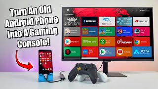 Turn An Old Android Phone Into A Gaming & Emulation Console!