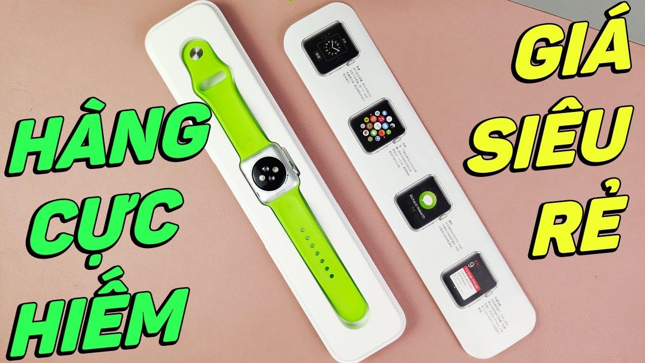 Mở hộp Apple WATCH 1st chưa Active phiên bản cực hiếm GIÁ SIÊU RẺ!!!