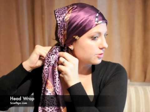 how to wear winter head wraps