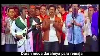 Jokowi feat Rhoma Irama - Darah Muda + lirik