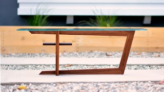 Designing and Building a Modern Coffee Table - Woodworking 02