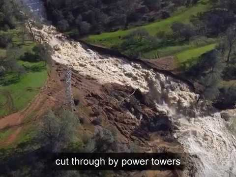 Observations of Oroville Dam and Repairs April 20 2017