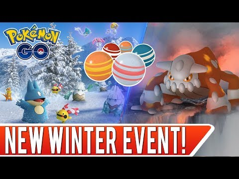 New Winter Event in Pokémon GO! Two Heatran Raids and Delibird Shiny Hunting in Sacramento! thumbnail