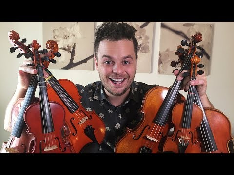 "PLAYING ONE SONG WITH 6 SMALL VIOLINS - ""Believer"" by Imagine Dragons (Live Loop Cover)"