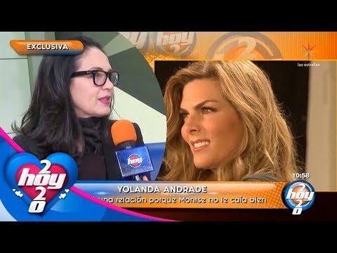 Yolanda Andrade aclara cómo mantiene su amistad con Montserrat Oliver a pesar de los problemas