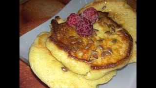 пп Сырники-оладьи 198 калорий из овсяной и рисовой муки быстрый завтрак для всей семьи