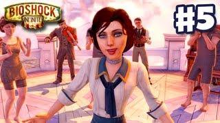 BioShock Infinite - Gameplay Walkthrough Part 5 - Battleship Bay (PC, XBox 360, PS3)