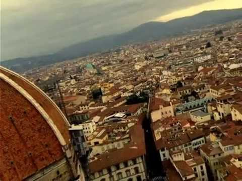 Florence Italy rooftop view