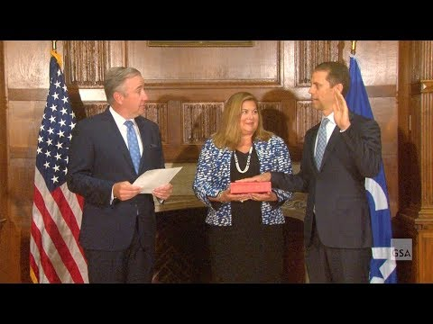 Public Buildings Service Commissioner Dan Mathews Swearing-In Ceremony