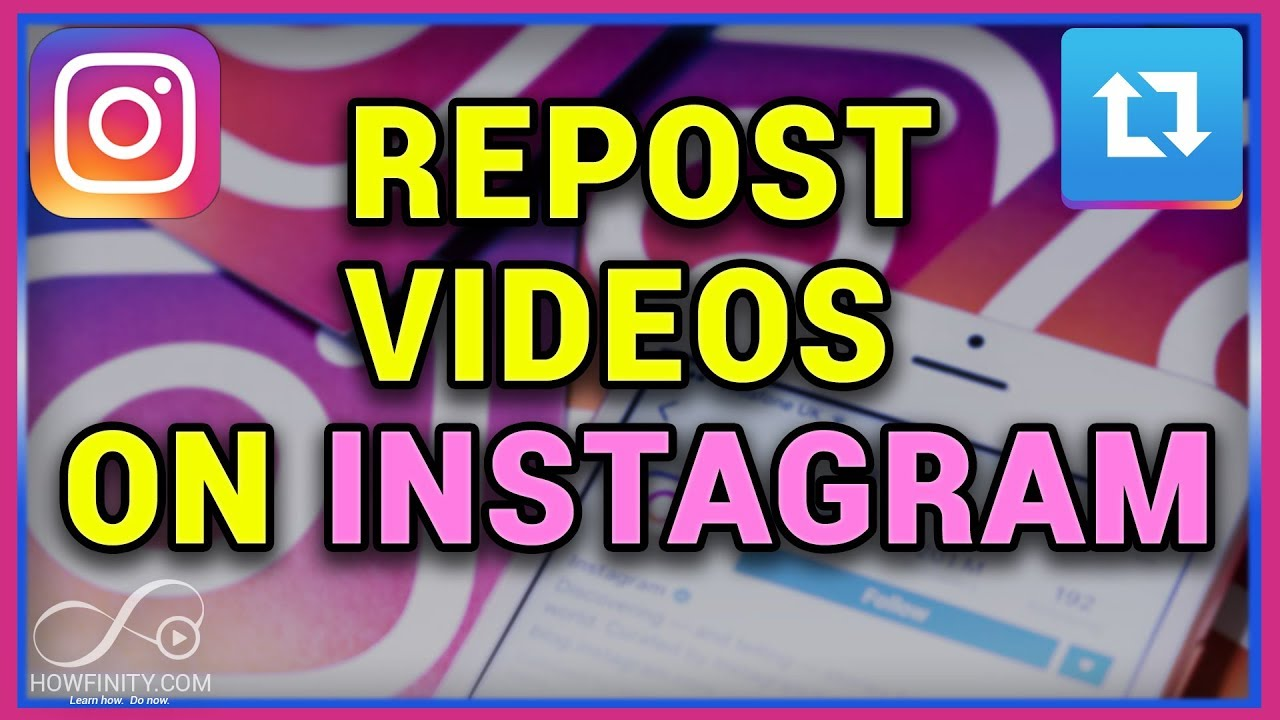 c4a6338a1d How to repost videos on Instagram - YouTube