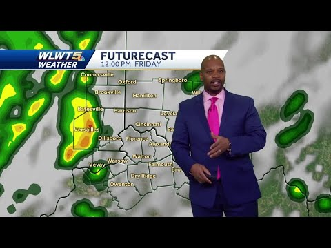 More Downpours Then A Weekend Cool Down