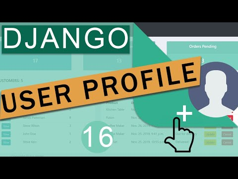 User Profile With One To One Relationship   Django (3.0) Crash Course Tutorials (pt 16)