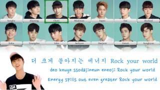boys24 소년24 e w g ver lyric video kor han rom eng